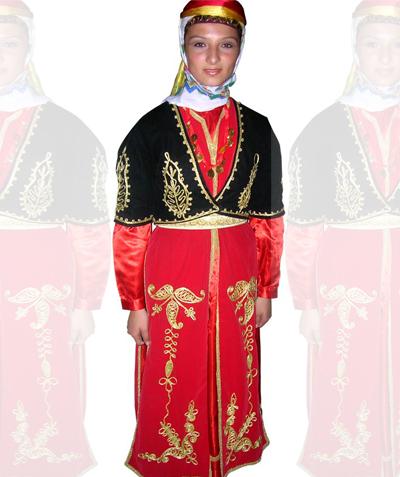 Artvin Kız Kostümü