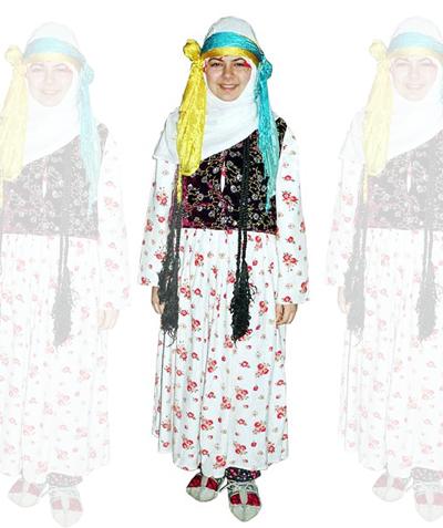 Bitlis Kız Kostümü