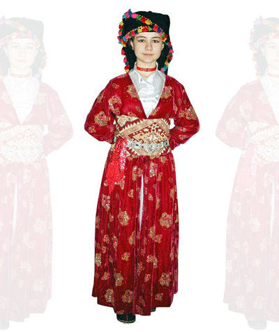 Hakkari Kız Kostümü