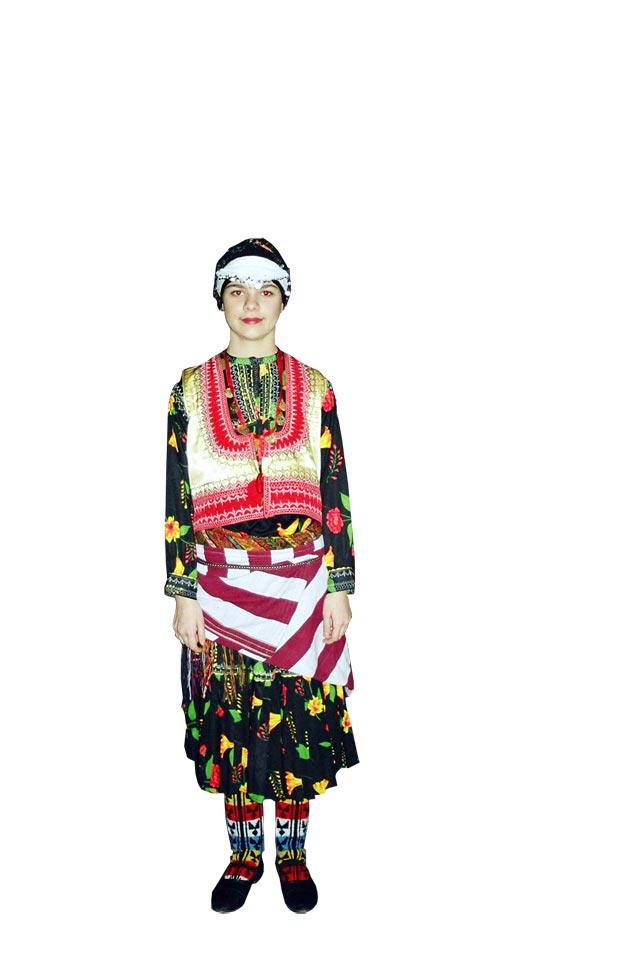 Trabzon Kız Kostümü