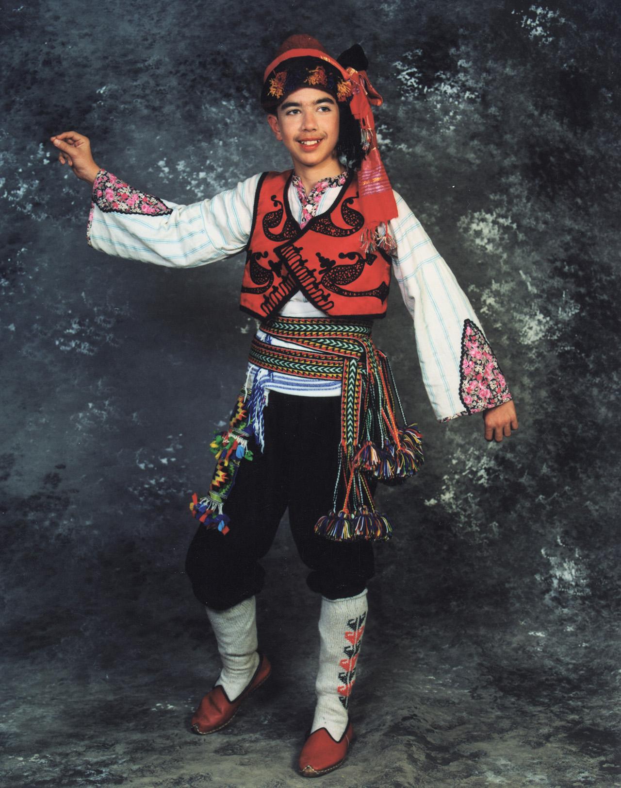 Fethiye Erkek Kostümü