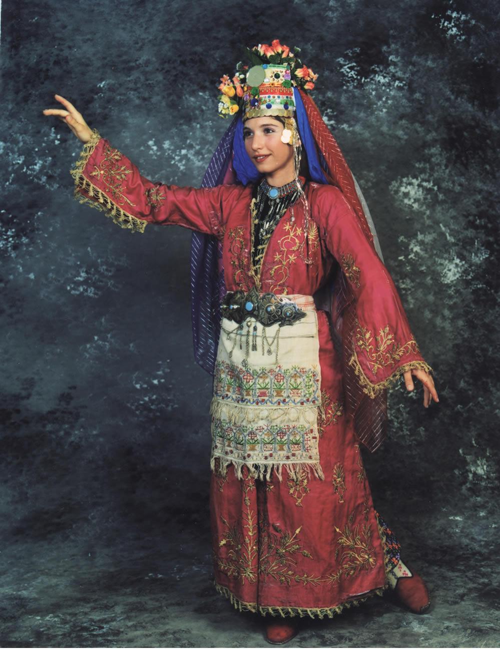 Fethiye Kız Kostümü