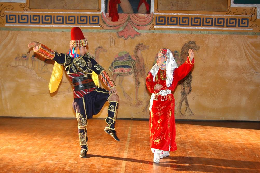 Stilize Dans Kostümü-4